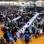 Multitudinaria celebración del mes de la mujer en Ushuaia