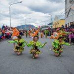 Los carnavales centrales se vivieron a todo ritmo y color en la avenida Maipú
