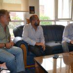 Vuoto se reunió con el secretario de Coordinación de Río Grande