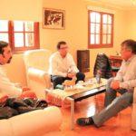El BTF presentó a Queno los créditos Primer Vivienda