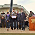 Voluntariado Social Unidad y Lealtad TDF reconoció a veteranos de guerra