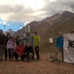 La UTN instaló en el Aconcagua una planta de tratamiento de agua alimentada con paneles solares, y dotará de energía al lugar