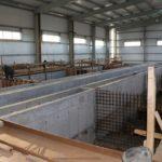 La obra de la nueva planta potabilizadora tiene un 75% de avance