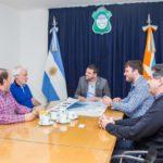 El intendente Vuoto recibió la visita del nuevo director del CADIC