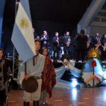 La comunidad de Río Grande esperó al 25 de mayo en el San Martín