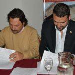 Vuoto firmó con su par de Salta un convenio de colaboración