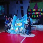 Cerca de 1200 jóvenes colmaron el Polideportivo Margalot
