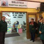 """""""Una biblioteca en un jardín de infantes, es apostar al futuro"""""""