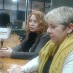 Las licenciadas Daniela Miquelestorena y Sandra Piedrabuena pasaron por Café Tecnológico