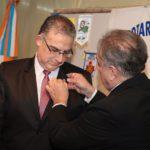 Miguel Vázquez sucedió a Mario Ferreyra en la presidencia del Rotary Club