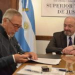 Firmaron el contrato de obra para del nuevo edificio del Superior Tribunal de Justicia