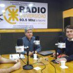El diputado Pérez pasó por Radio Universidad (93.5)