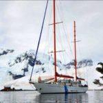 "Llegó al puerto de Ushuaia el motovelero oceanográfico ""Bernardo Houssay"""