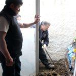 Padres de Sofía excavaron el patio de su casa para despejar dudas