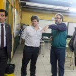 El Ministro de Ciencia y Tecnología visitó la Facultad Regional Río Grande