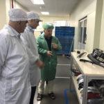 Caballero recorrió diversas plantas industriales del Estado de Sao Paulo, Brasil