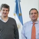 Martinioni se reunió con Barañao