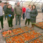 Autoridades chilenas de Porvenir destacaron el trabajo en el vivero municipal