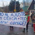 Trabajadores reclamaron por despidos en el Ministerio de Ciencia y Tecnología de Nación