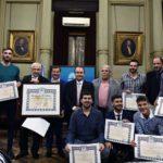 El Senado homenajeó a los campeones mundiales de voleibol