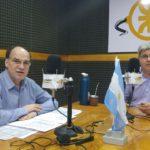 """Blanco en Radio Universidad: """"A Tierra del Fuego le hacen falta mil millones para llegar a fin de año"""""""