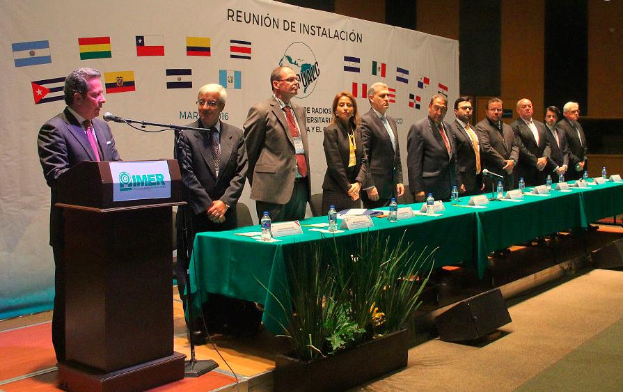 El último encuentro de la RRULAC se desarrolló en México y contó con la presencia de autoridades de ARUNA.
