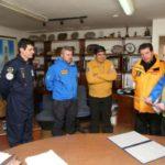 Base Marambio: Arcando entregó grupo electrógeno