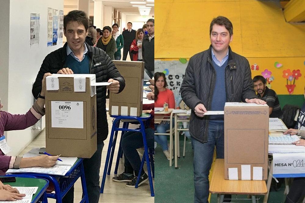Martín Pérez y Héctor Stefani resultaron los grandes vencedores de este domingo, en el que los fueguinos los eligieron como representantes de la provincia de Tierra del Fuego ante la Cámara Baja del Congreso Nacional.