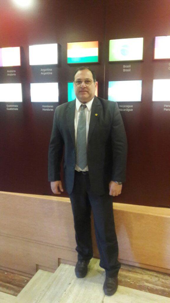 Gastón Colaprete, presidente de ARUNA, presente en el 4° Encuentro de la RRULAC