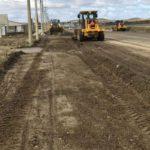 Inician las primeras obras de pavimentación correspondientes a la emergencia vial