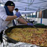 Miles de vecinos compartieron la tradicional paella en el aniversario de Ushuaia