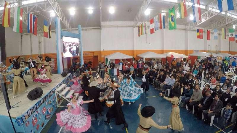 Se desarrolló la 16° edición de la Feria de las Colectividades.