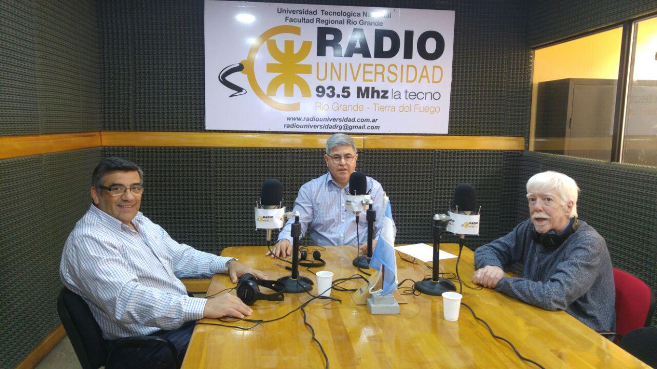 Gran charla con Walter Buscemi y José María Martín en Radio Universidad (93.5)