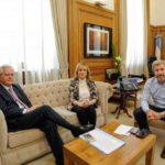 Consenso Fiscal: Boyadjián se reunió con Frigerio y Pinedo