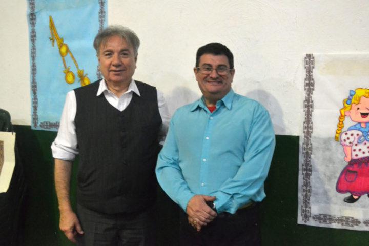 En la fiesta estuvo presente el Ing. Mario Ferreyra, decano de la Facultad Regional Tierra del Fuego, acompañado por el vicedecano Ing. Francisco Alvarez.