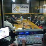 En Radio Universidad (93.5), Arcando compartió con veteranos de Malvinas de distintos puntos del país