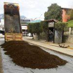 Con material geotextil avanzan las obras en la calle Deloqui