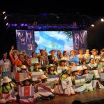 La danza folklórica le puso el broche de oro a la muestra final de los talleres culturales municipales