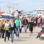 Ushuaia espera una buena temporada con la llegada de cruceros