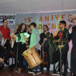 Multitudinaria concurrencia a la fiesta de 'Defendiendo lo Nuestro'