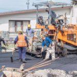 La temporada de obra en la ciudad de Ushuaia se encuentra en plena ejecución