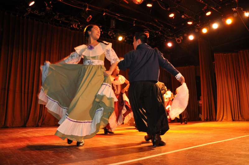 El Ballet Río Grande y la Escuela Atahualpa cerraron el año con gran despliegue de talento.