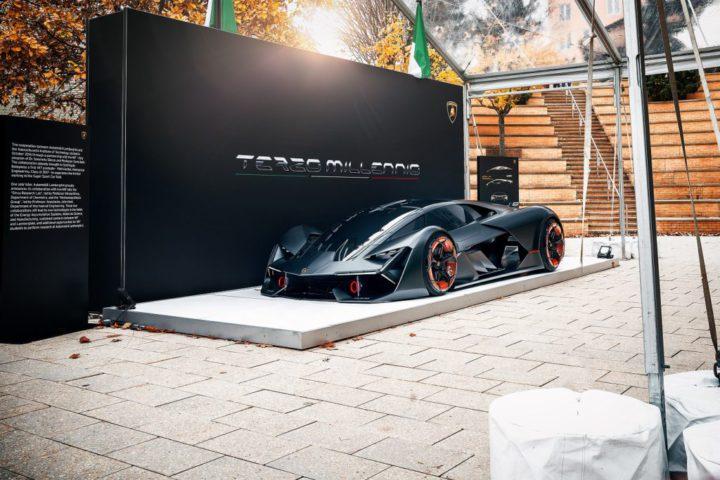 """El Terzo Millenio surge como una visión de hacer una Hypercar eléctrica Lamborghini. """"Es un auto que está por encima de un superdeportivo. Es algo que está más allá""""."""