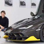 El ushuaiense Facundo Elías diseñó el último modelo de Lamborghini, el Terzo Millennio