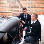 Ushuaia e Italia unidas a través del Lamborghini Terzo Millennio del fueguino Facundo Elías