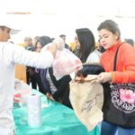 Más de 31 toneladas de alimentos se vendieron el primer día de feria navideña