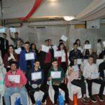 Nuevos graduados en el CENS 18 Anexo Escuela 21