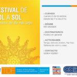 """Hoy Río Grande será sede del festival """"De Sol a Sol"""""""