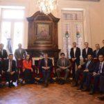 Bertone respaldó la reforma previsional