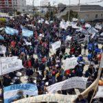 Nueva manifestación en contra de la Reforma Previsional